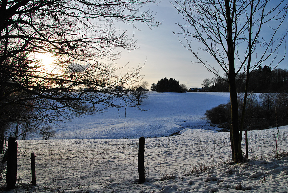 Waldbröl im Winter
